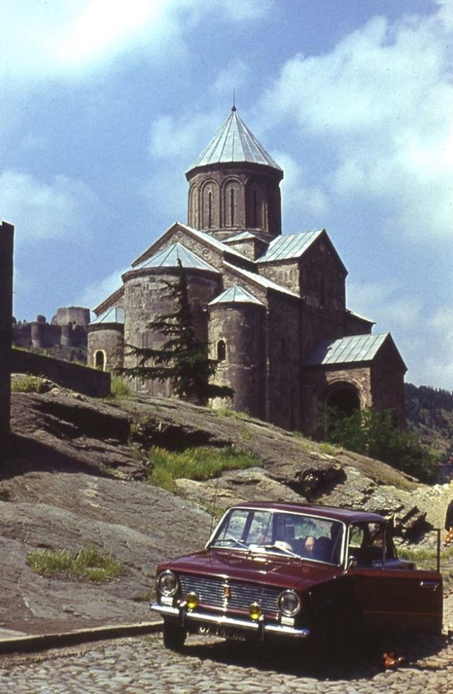Visiting Georgia's religious and cultural heritage in 1974