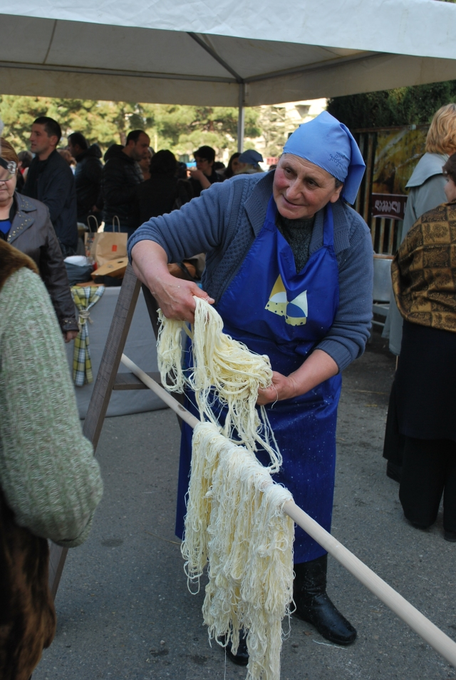 Cheese Festival at Georgia Expo in Tbilisi