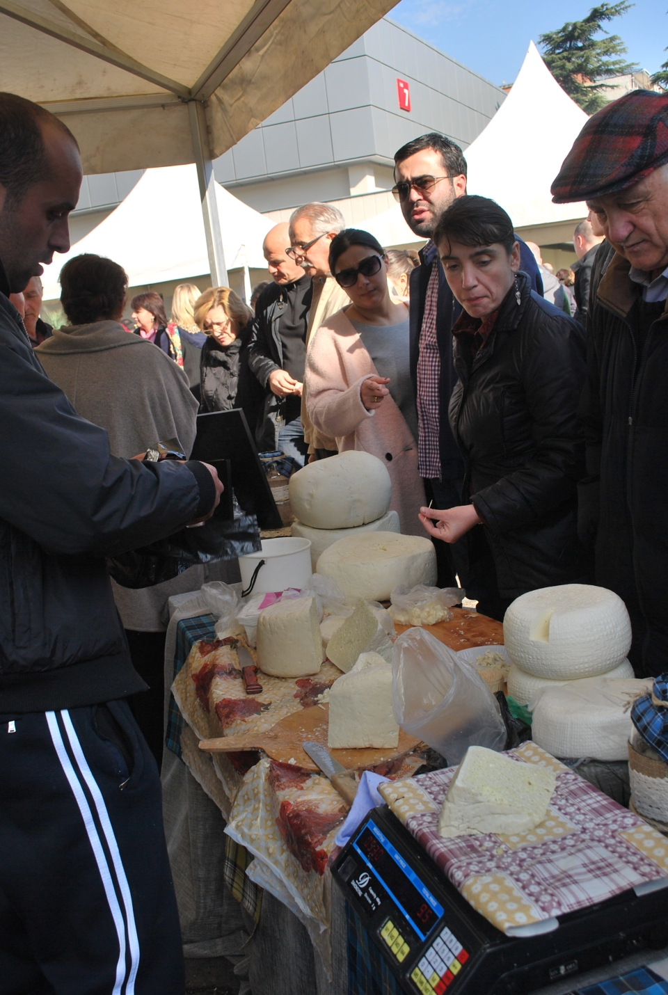 Cheese Festival at Expo Georgia in Tbilisi