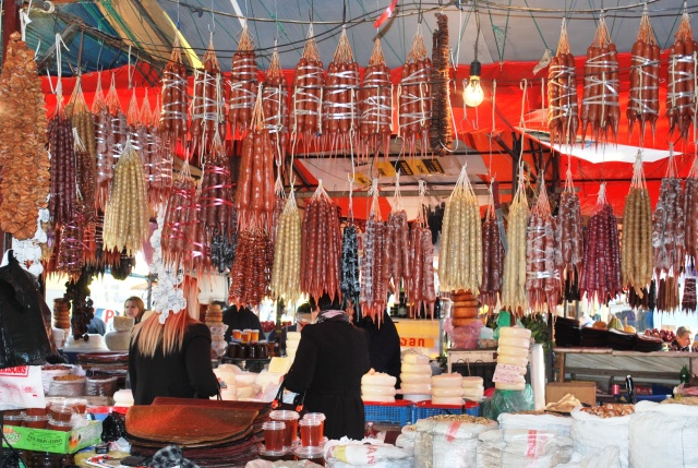 Churchkhela at the Dezerter Bazaar