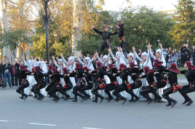 Dancers at the Ozurgetoba - Alegroba 2014 celebration. Photo courtesy of მე მიყვარს ოზურგეთი