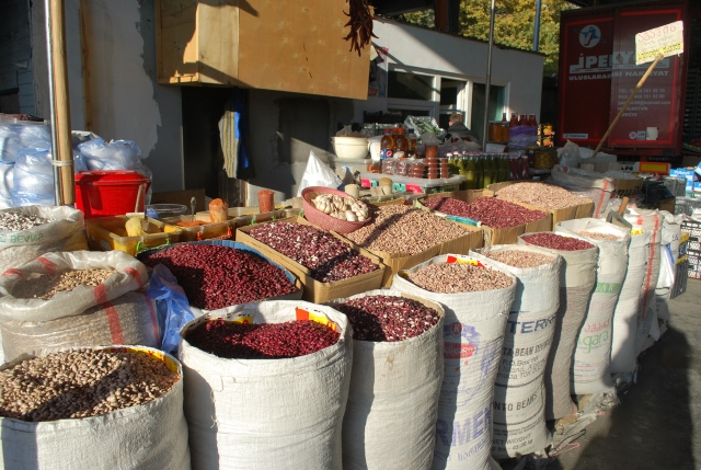 Lobio beans at the Dezerter Bazaar