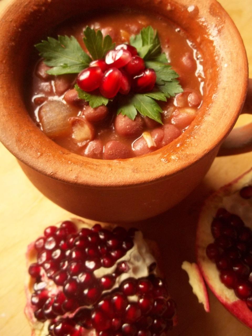 Lobio with Pomegranate Juice_1 - Copy