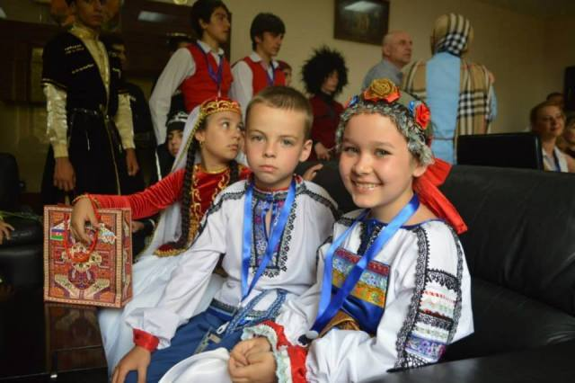 Participants in The International Children and Youth Choreography Festival – Caucasus 2014