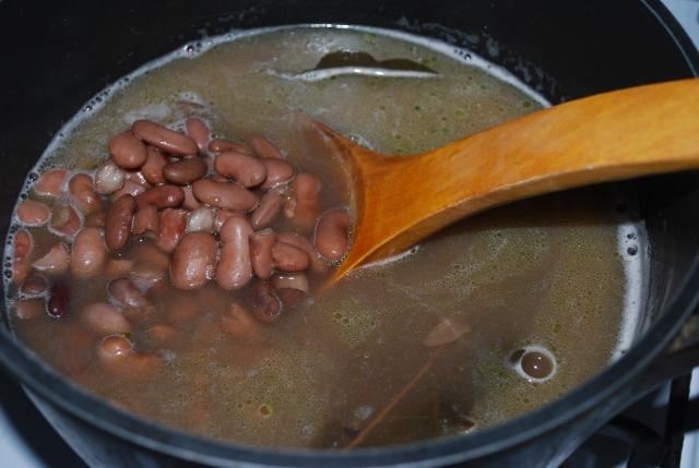 Boiled Lobio Beans