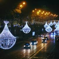 About Celebrations - Christmas Decorations in Tbilisi