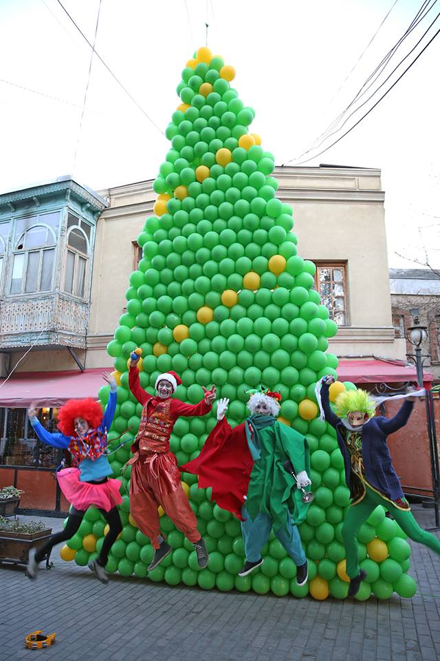 about events christmas tree festival in tbilisi