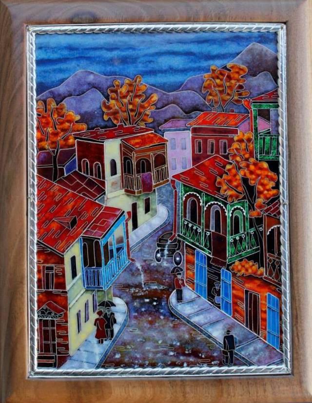 """Enamel Artwork by """"Pokany workshops"""""""