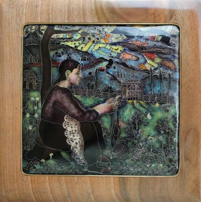 Enamel Artwork by Pokany workshops