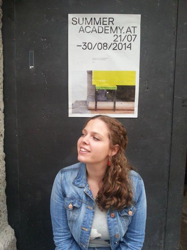Georgian artist Ana Chubinidze