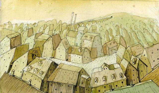 Painting by Ana Chubinidze
