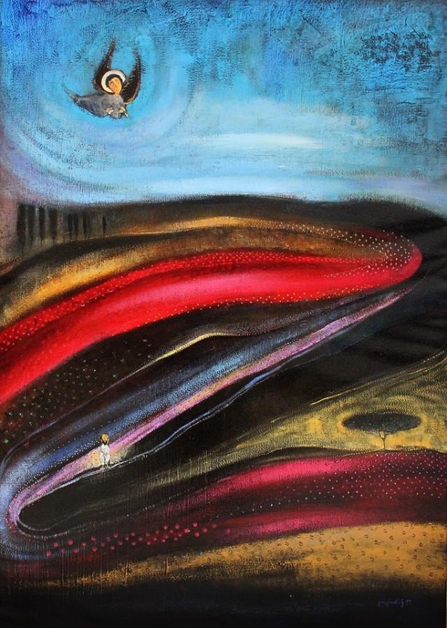 Painting by Guga Tevdoradze