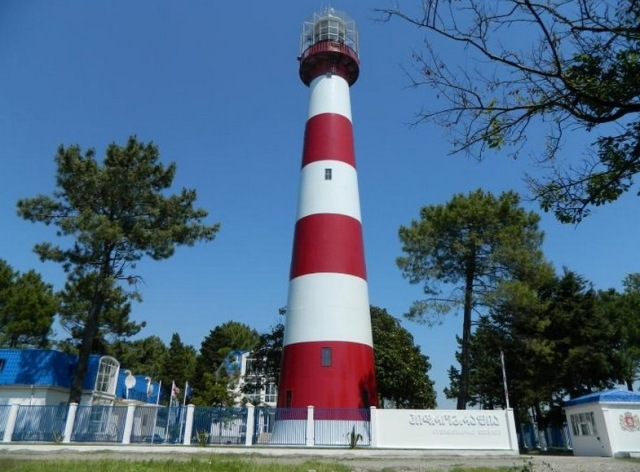 Poti Lighthouse. Photo courtesy of the Georgian State Hydrographic Service.