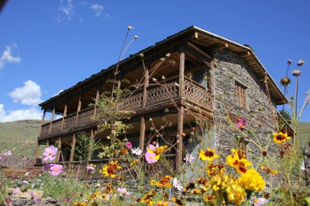 "Guesthouse ""Shina"" in Upper Omalo in Tusheti"