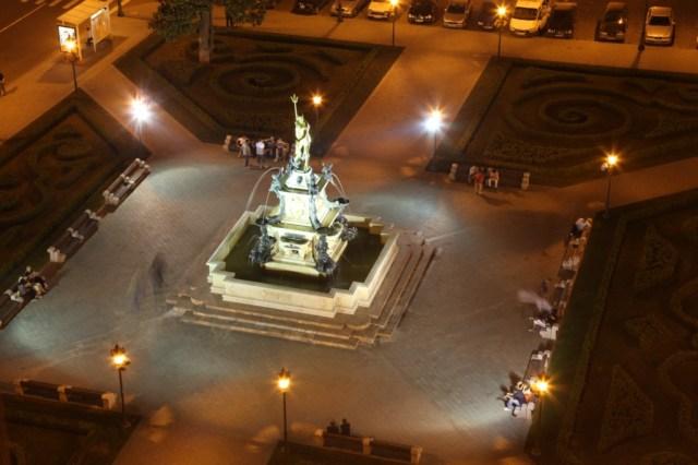 The Neptune Fountain in Batumi