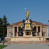 About Sights - The Neptune Fountain in Batumi