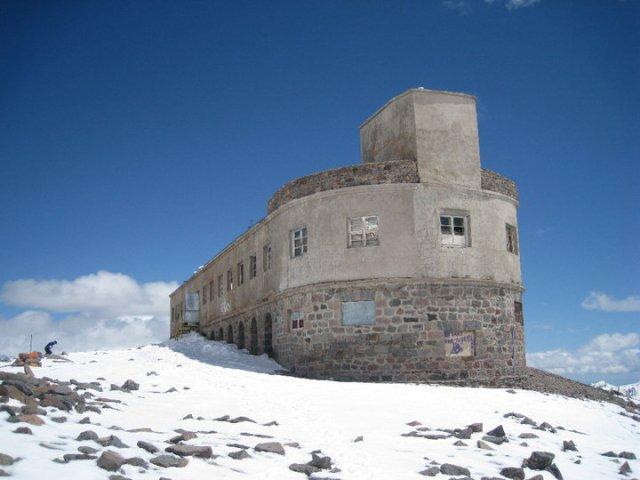 Bethlemi Hut on Mount Kazbegi
