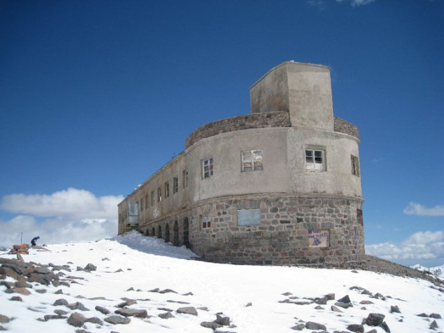 Bethlemi Hut on Mount Kazbegi