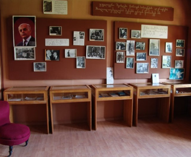 The Konstantine Gamsakhurdia House Museum in the village of Dzveli Abasha.