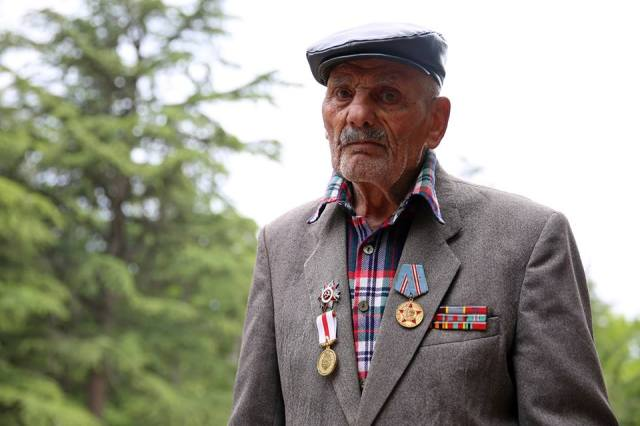 A veteran on Victory Day