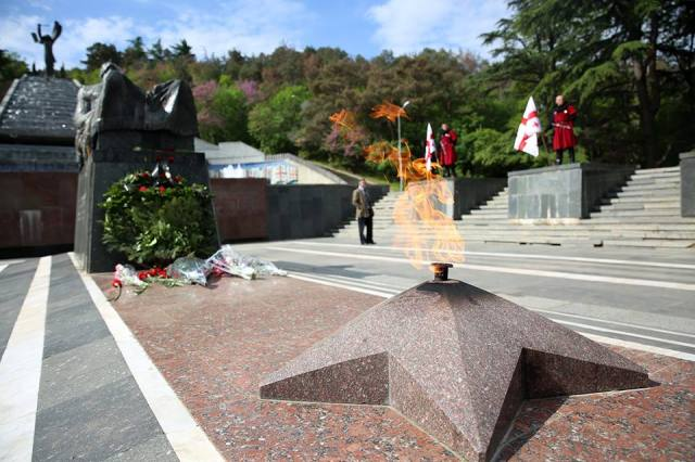 Tomb of the Unknown Soldier in Vake Park, Tbilisi