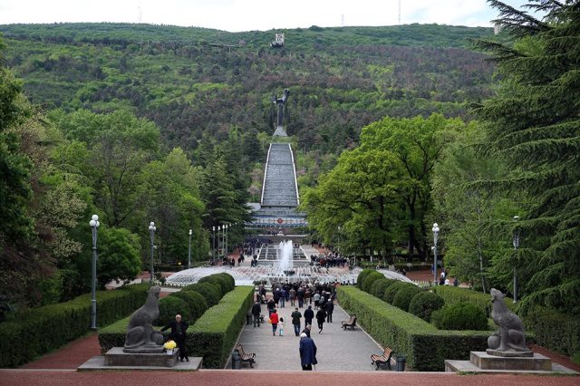 Vake Park in Tbilisi