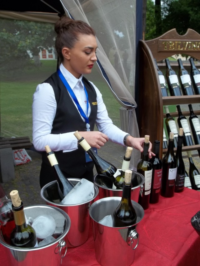 Wines at the New Wine Festival 2015