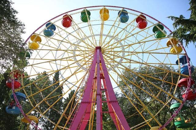 Ferris wheel at Mushtaidi Park