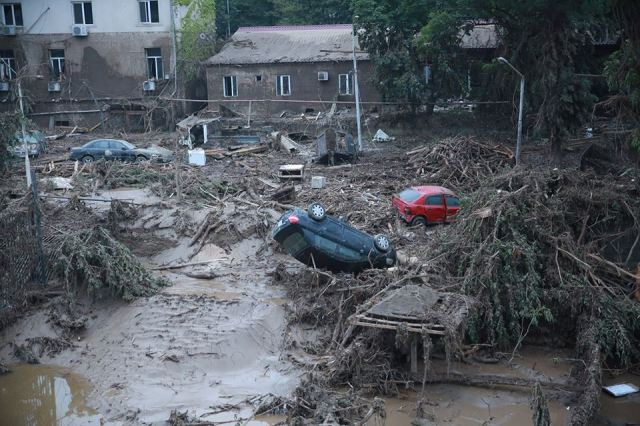 The destruction caused by the deadly flood in Tbilisi. Photo source: Tbilisi City Hall