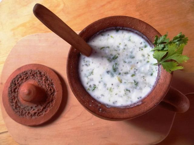 Cold Matsoni Soup