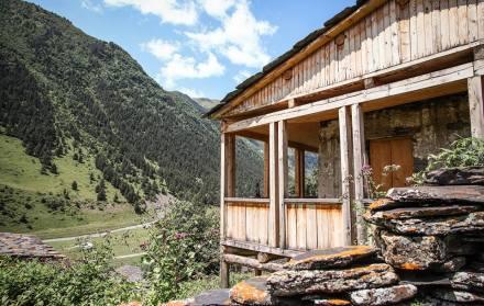 Dartlo Village in Tusheti