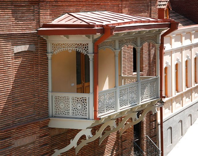 Balcony in Tbilisi's Old Town
