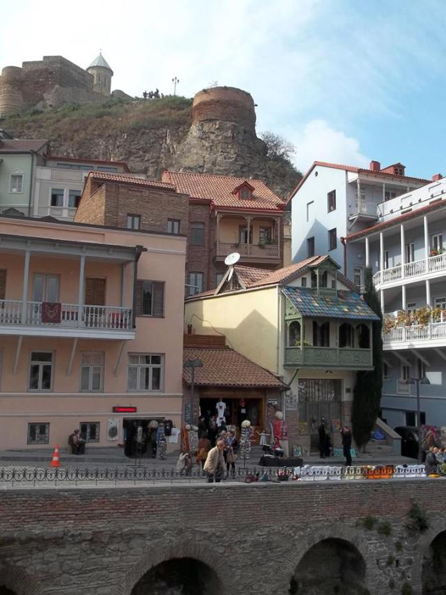 Tbilisi's Old Town District. Photo by Georgia About