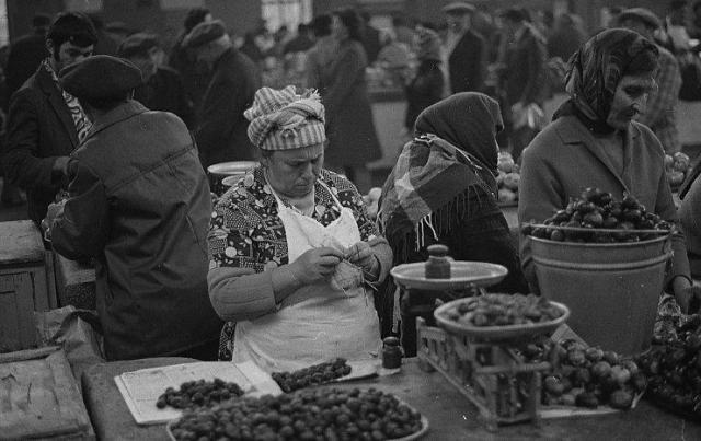 A market in Tbilisi in 1976