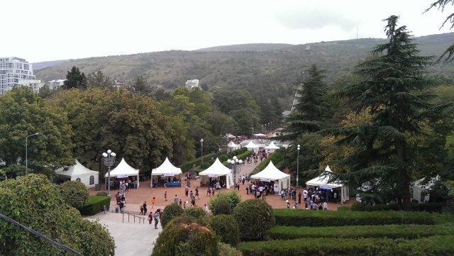 Scientific Picnic at Vake Park in Tbilisi