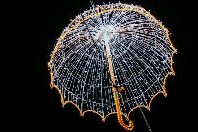 Christmas illuminations in Tbilisi