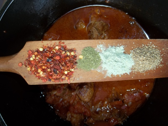 Adding Spices and Herbs