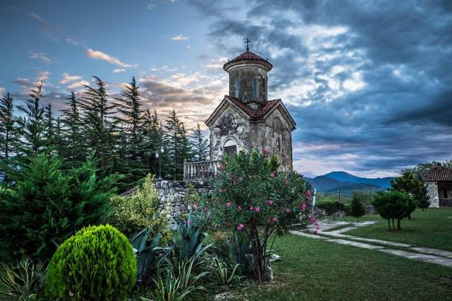 Martvili Monastery. Photo by Mbzzgeorgia