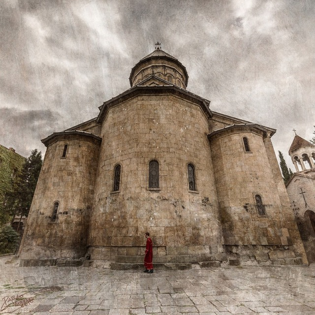 The Sioni Cathedral of the Dormition in Tbilisi. Photo by Pablo Ferrari.