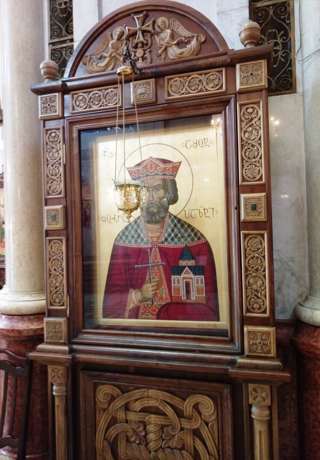 Icon in Sameba Cathedral