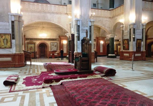 Interior of Sameba Cathedral