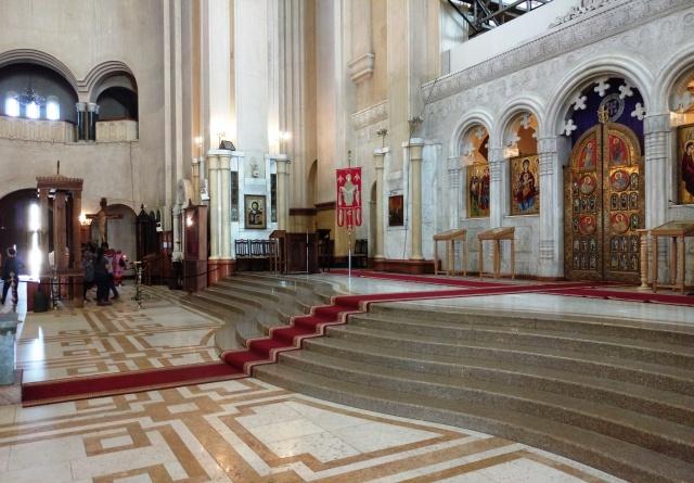 Interior of Sameba Cathedral_1