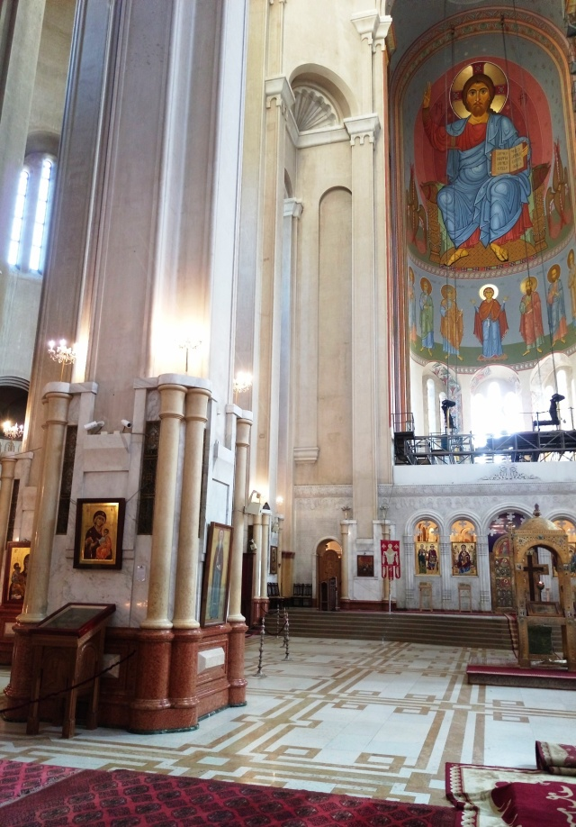 Interior of Sameba Cathedral_2